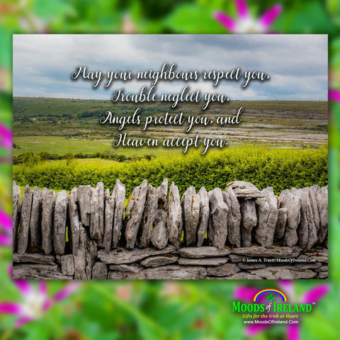 2021 Irish Blessings & Proverbs Wall Calendar Calendar Moods of Ireland
