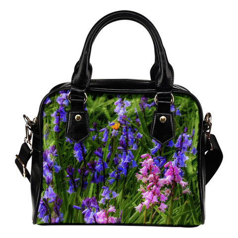 Shoulder Bag - Irish Spring Bluebells Shoulder Bag Moods of Ireland