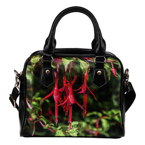 Shoulder Bag - Wild Irish Fuchsias Shoulder Bag Moods of Ireland
