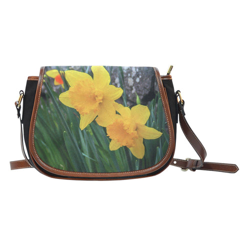 Saddle Bag - Irish Spring Daffodils Saddle Bag Moods of Ireland