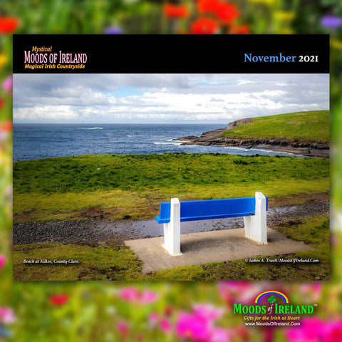 Image of 2021 Magical Irish Countryside Wall Calendar Calendar Moods of Ireland