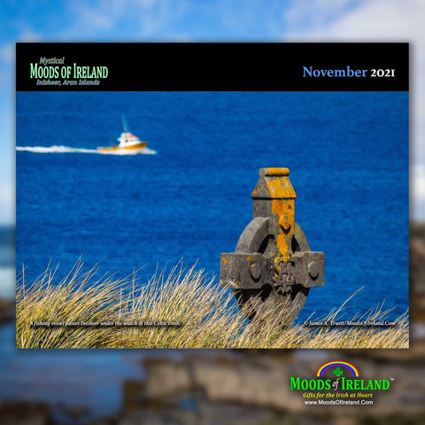 2021 Inisheer, Aran Islands Wall Calendar Calendar Moods of Ireland