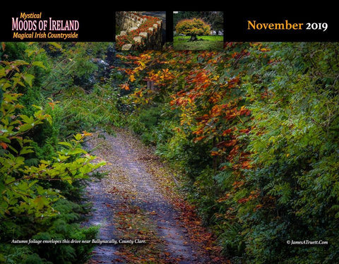 Image of 2019 Magical Irish Countryside Wall Calendar