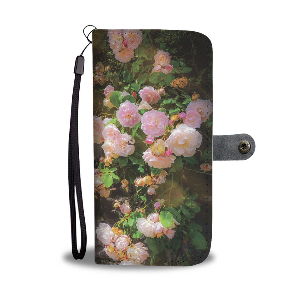 Irish Roses Wallet Phone Case Wallet Case wc-fulfillment