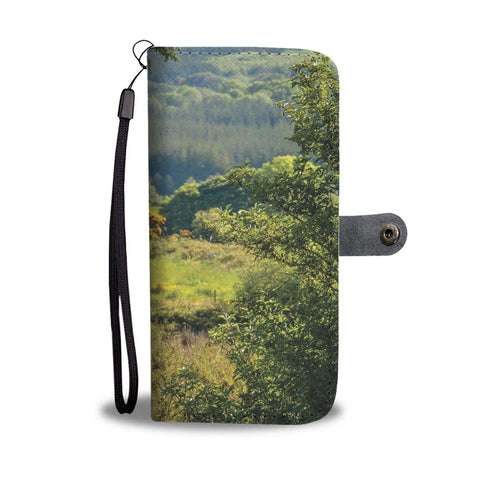 40 Shades of Green Wallet Phone Case