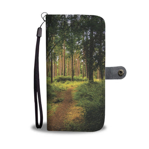 Portumna Woodland Path Wallet Phone Case