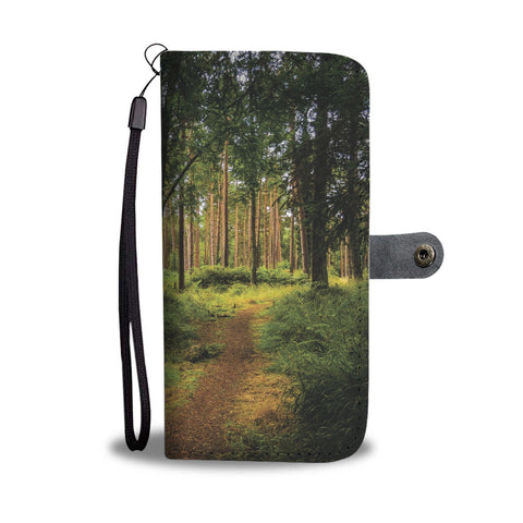 Portumna Woodland Path Wallet Phone Case Wallet Case wc-fulfillment
