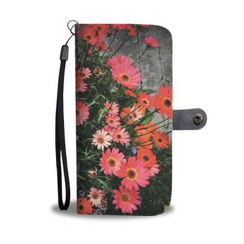 Image of African Daisies Floral Wallet Phone Case Wallet Case wc-fulfillment