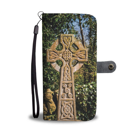 Image of Celtic Cross Wallet Phone Case