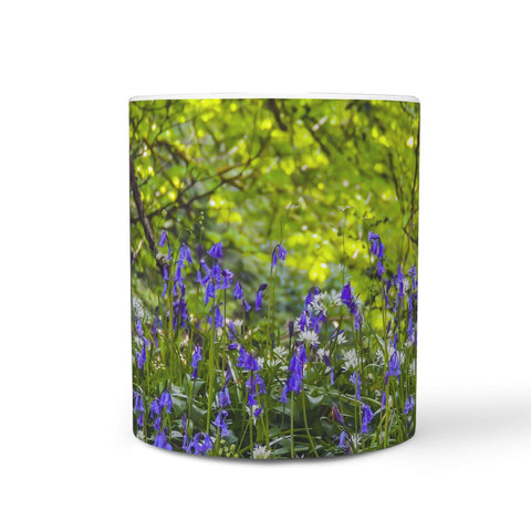 Ceramic Mug - Irish Bluebells in Sunny Meadow, County Clare 360 White Mug wc-fulfillment