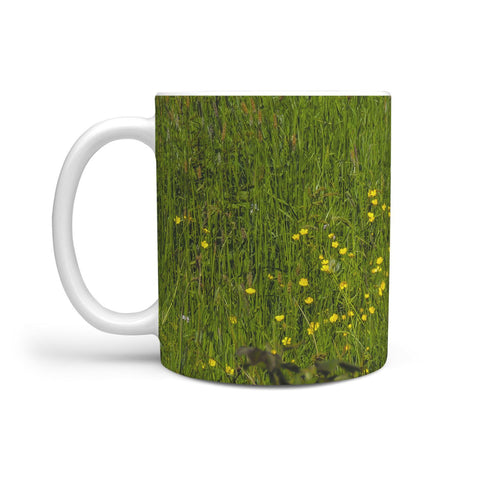 Image of Ceramic Mug - Irish Buttercup Meadow 360 White Mug wc-fulfillment