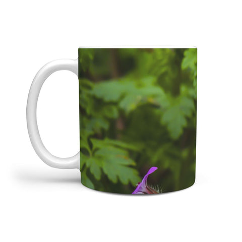 Ceramic Mug - Irish Wildflowers 360 White Mug wc-fulfillment