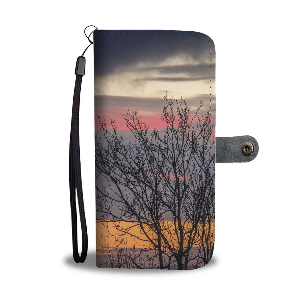 County Clare Sunrise Wallet Phone Case Wallet Case wc-fulfillment