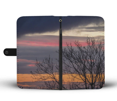 Image of County Clare Sunrise Wallet Phone Case Wallet Case wc-fulfillment