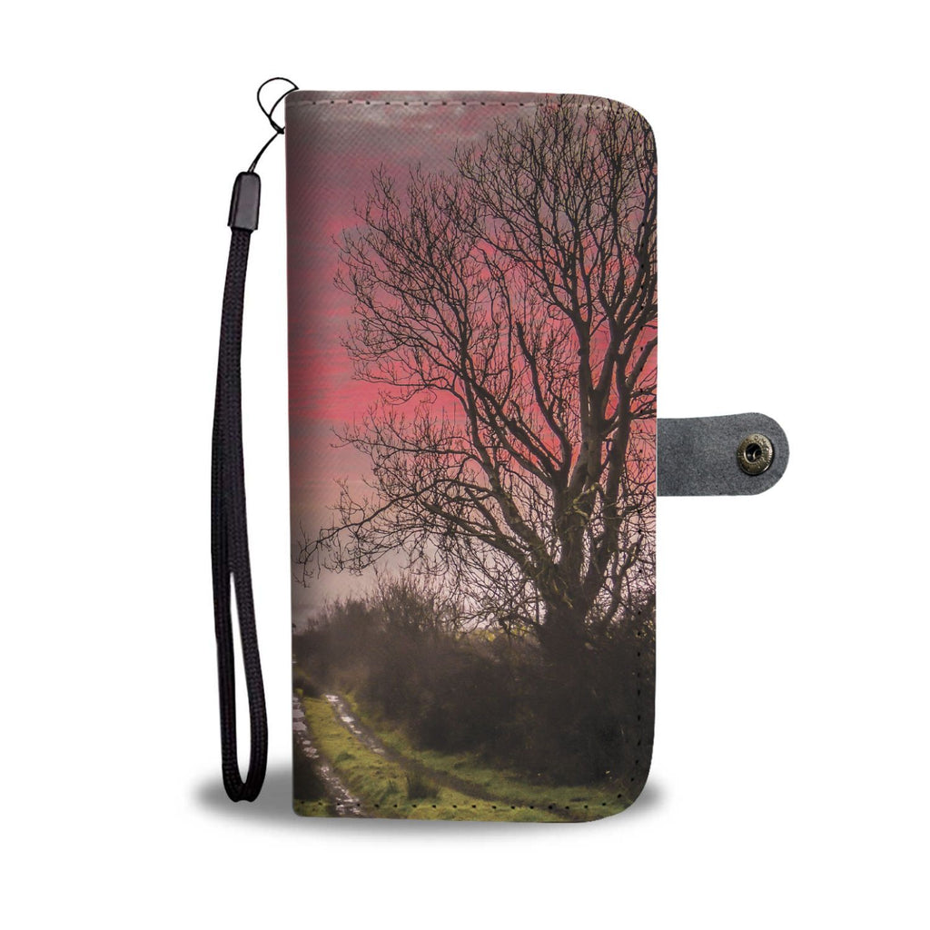 Decomade County Clare Sunrise Wallet Phone Case Wallet Case wc-fulfillment