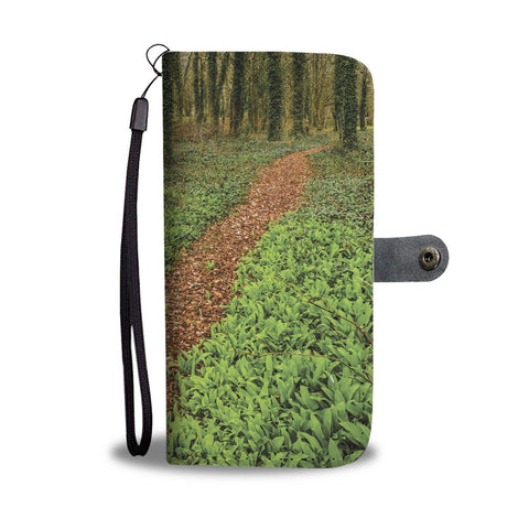 Image of Coole Park, County Galway, Path Wallet Phone Case Wallet Case wc-fulfillment