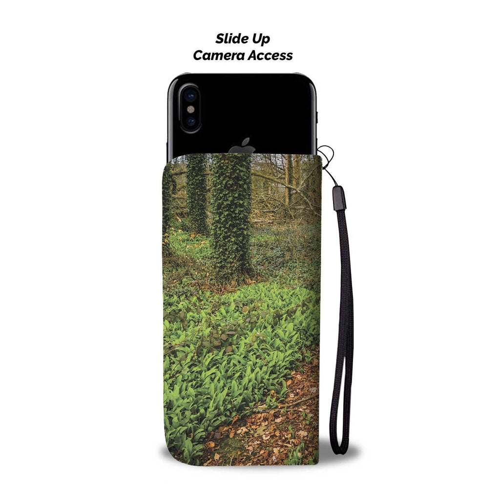 Coole Park, County Galway, Path Wallet Phone Case Wallet Case wc-fulfillment