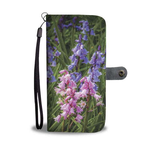 Image of Irish Spring Bluebells Wallet Phone Case Wallet Case wc-fulfillment