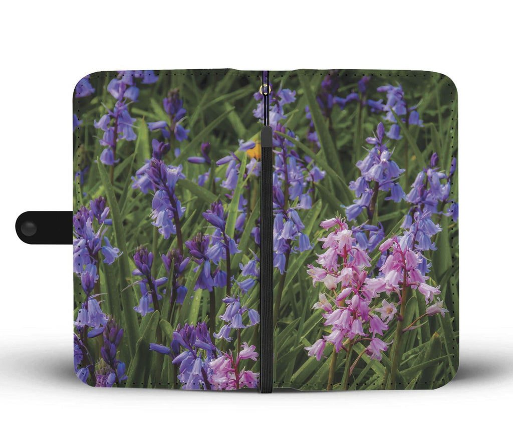 Irish Spring Bluebells Wallet Phone Case Wallet Case wc-fulfillment