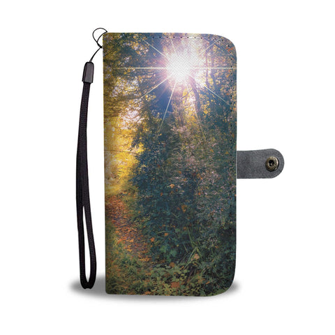 Image of Path through Paradise, Ballynacally, County Clare, Wallet Phone Case Wallet Case wc-fulfillment
