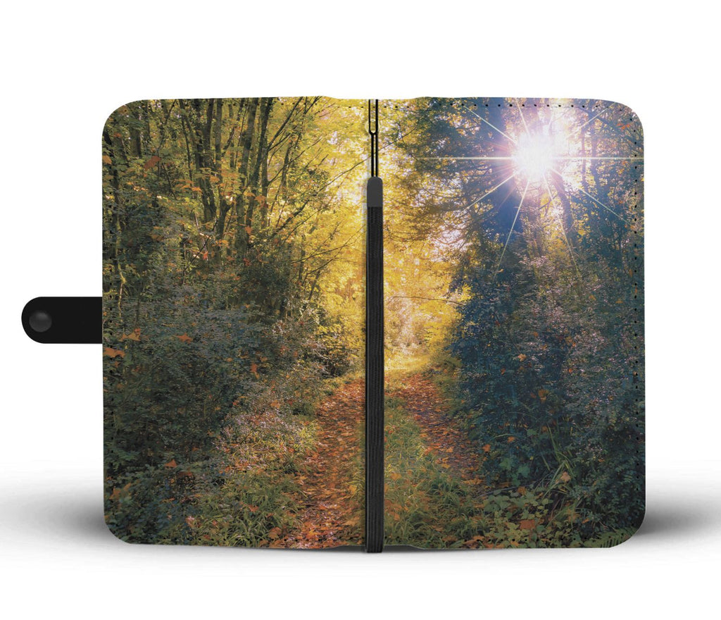 Path through Paradise, Ballynacally, County Clare, Wallet Phone Case Wallet Case wc-fulfillment