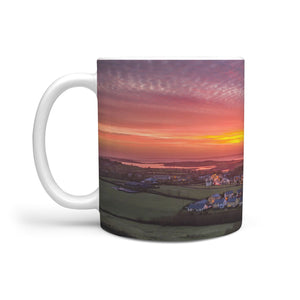Ceramic Mug - Kildysart Sunrise over Shannon Estuary, County Clare 360 White Mug wc-fulfillment