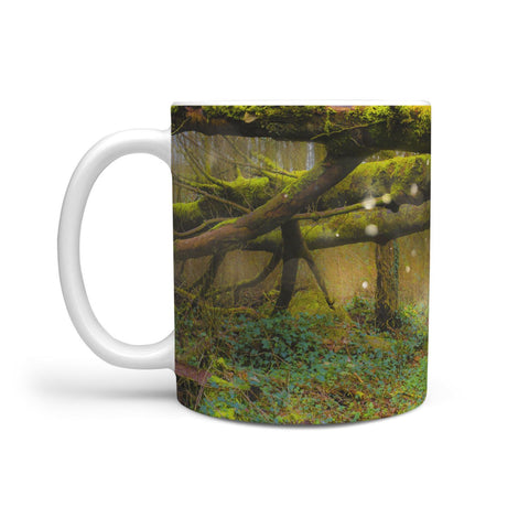 Ceramic Mug - Faerie Path at Thoor Ballylee, County Galway 360 White Mug wc-fulfillment