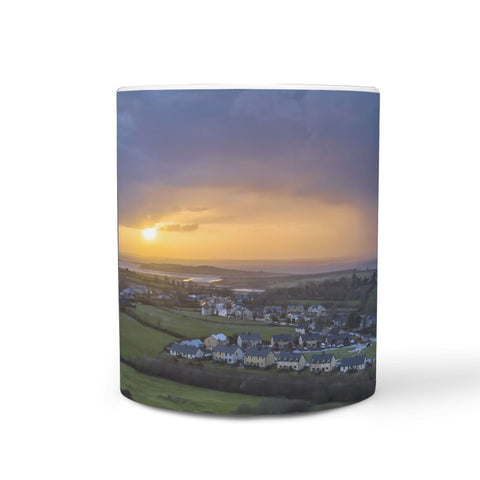 Ceramic Mug - Winter Kildysart Sunrise over Shannon Estuary 360 White Mug wc-fulfillment