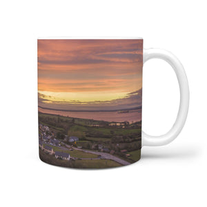 Cermic Mug - Red Sky in the Morning over Kildysart, County Clare