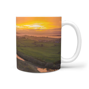 Ceramic Mug - Sunrise over Ballylean Lake, Kildysart, County Clare