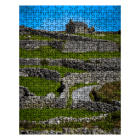 Puzzle - Criss-Crossed Stone Walls of Inisheer