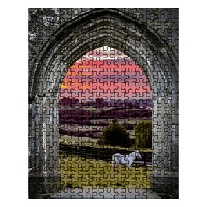 Puzzle - Horse at Sunrise in County Clare Puzzle Moods of Ireland 252 Pieces