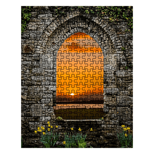 Puzzle - Magical Irish Spring Sunrise Puzzle Moods of Ireland 252 Pieces