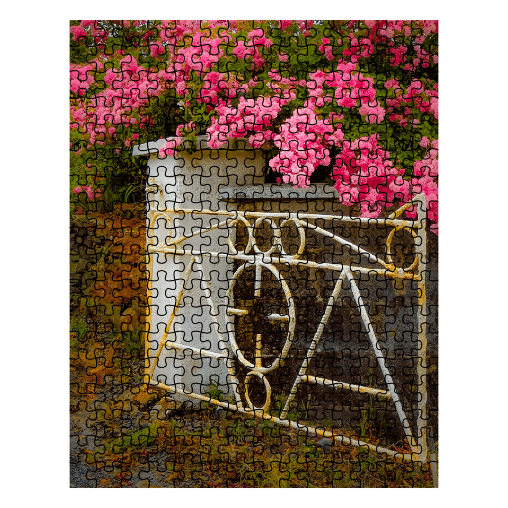 Puzzle - Gate with Irish Roses Puzzle Moods of Ireland 252 Pieces