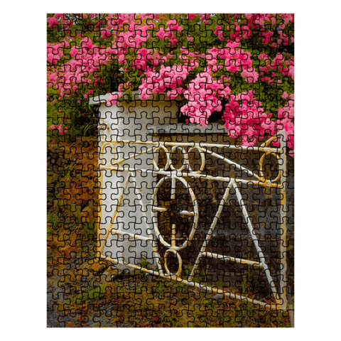 Image of Puzzle - Gate with Irish Roses Puzzle Moods of Ireland 252 Pieces