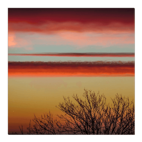 Image of Canvas Wrap - Enchanted Irish Sunrise