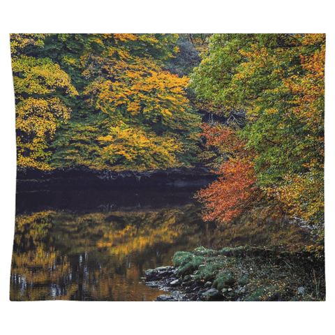Image of Tapestry - Autumn on Ireland's Cloon River