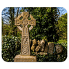 Mousepad - Celtic Cross at Dysert O'Dea Graveyard, County Clare - James A. Truett - Moods of Ireland - Irish Art