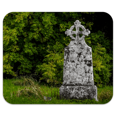 Mousepad - Celtic Cross at Killone Abbey, County Clare Mousepad Moods of Ireland 7.79x9.25 inch