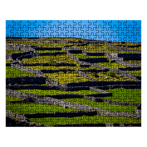 Puzzle - Stone Walls of the Isle of Inisheer, Aran Islands, County Galway Puzzle Moods of Ireland 252 Pieces