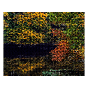 Puzzle - Autumn on County Clare's Cloon River Puzzle Moods of Ireland 252 Pieces
