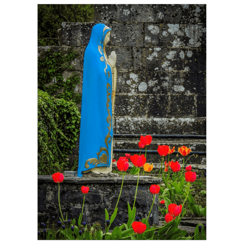 Flat Card - Virgin Mary at Quin Abbey, County Clare
