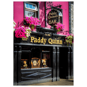 Flat Card - Paddy Quinn's Irish Pub, Ennis, County Clare Flat Card Moods of Ireland 25 Cards