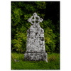 Flat Card - Celtic Cross at Killone Abbey, County Clare Flat Card Moods of Ireland 25 Cards