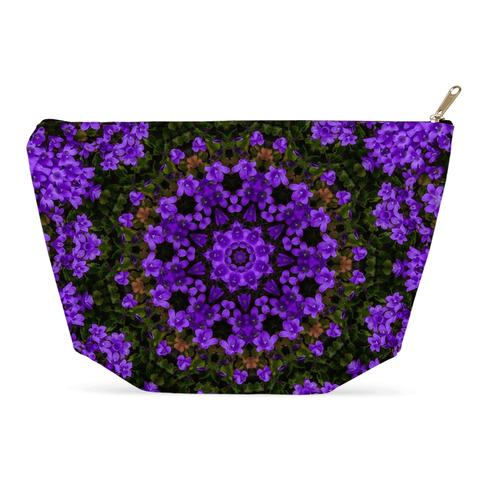 Accessory Pouch - Purple Paradise Accessory Pouch Moods of Ireland