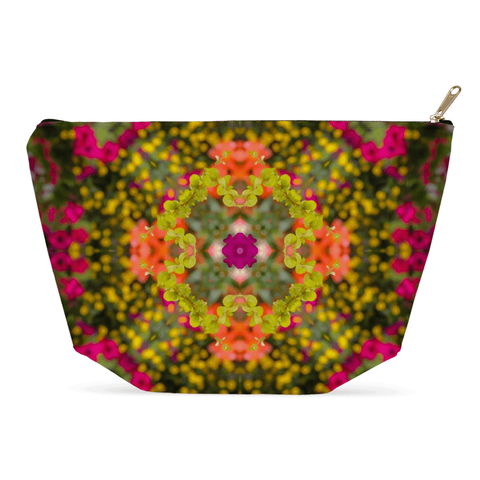 Image of Accessory Pouch - Irish Kaleidoscope Accessory Pouch Moods of Ireland