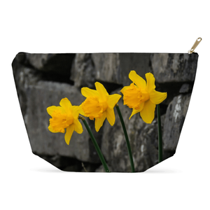 Accessory Pouch - Aunt DJ's Daffodils