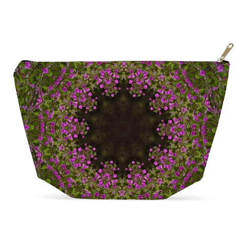 Image of Accessory Pouch - Herb Robert Merry-Go-Round Accessory Pouch Moods of Ireland