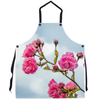 Apron - Wild Irish Roses in County Clare Apron Moods of Ireland 29.5x32 inch