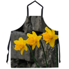 Apron - Blooming Daffodils Apron Moods of Ireland 29.5x32 inch